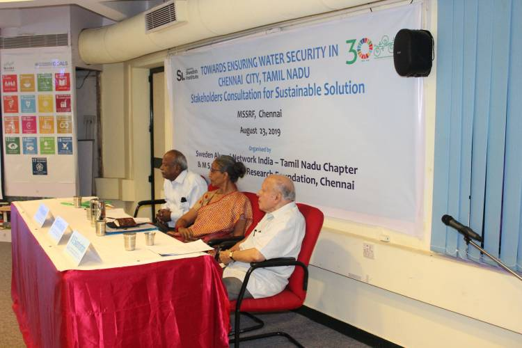 Ensuring water security in Chennai