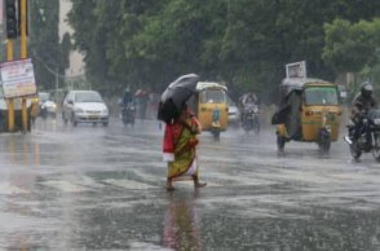 தென் தமிழக மாவட்டங்களுக்கு இன்று மழை - சென்னை வானிலை ஆய்வு மையம்