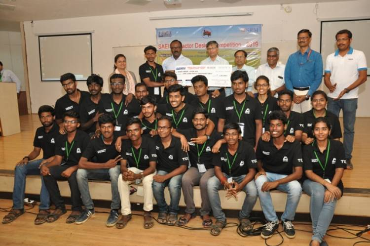 625 students participate in Tractor Design Competition 2019 at SRM