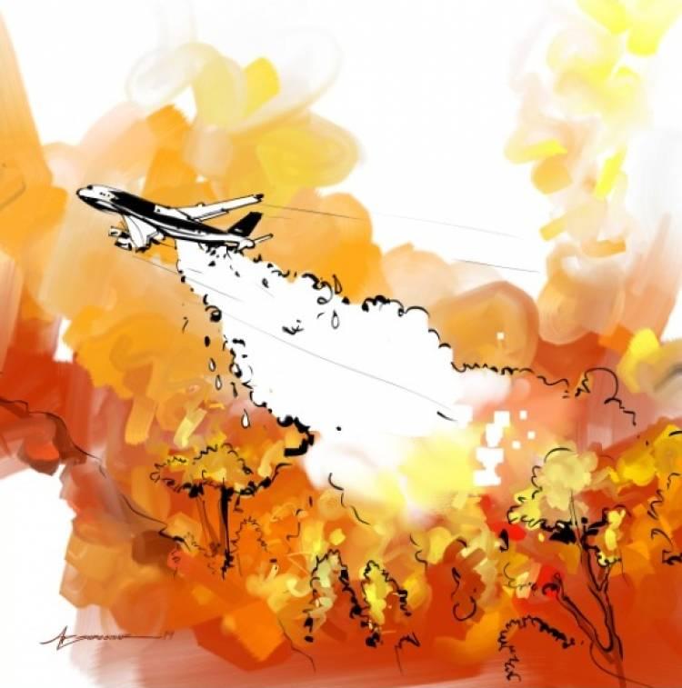 அமேசான் காடுகளை காக்கப் போராடும் வீரர்களை ஊக்குவிக்கும் ஓவியர் ஏபி ஸ்ரீதர்