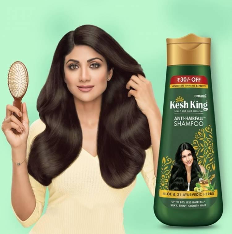 Kesh King shampoo infuses 'Ayurvedaasan' for healthy hair Ropes in Shilpa Shetty as its new Brand Ambassador
