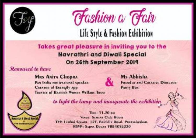 """Fashion a Fair"" Life Style & Fashion Exhibition"