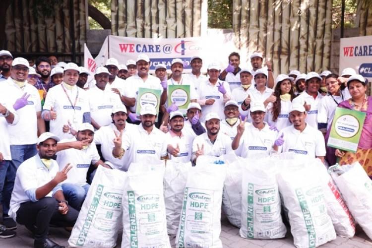 CavinKare Initiates Waste Collection as part of Gandhi Jayanthi