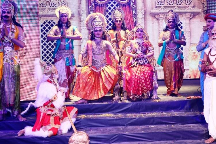 Aryan Heritage Foundation Heralds Festivities with the 5th Edition of Sampurn Ramayana in Broadway Style