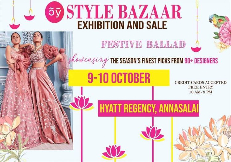 """""""Style Bazaar"""" Exhibition and Sale"""