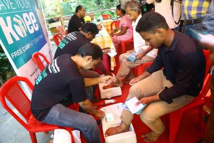 Soundarapandian Bone and Joint Hospital presents 'Save your Knee' campaign