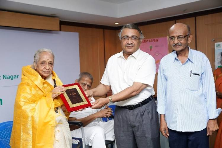 Fortis Malar Hospital in collaboration with Senior Citizens Group honours renowned legends of Tamil Nadu