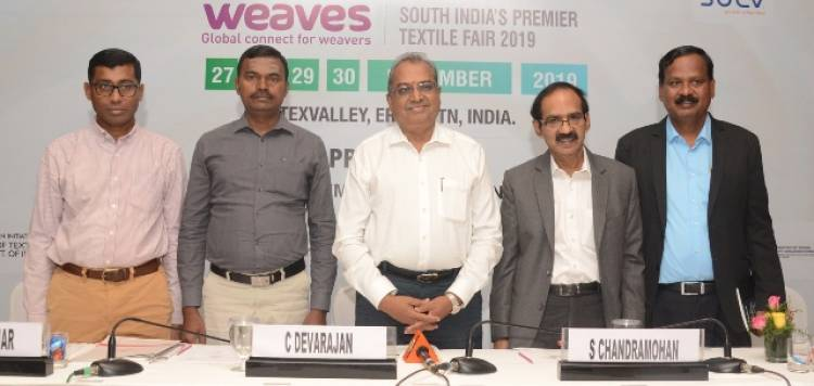 "CII And Texvalley To Organise 2nd Edition Of South India's Premier Textile Fair ""Weaves"""