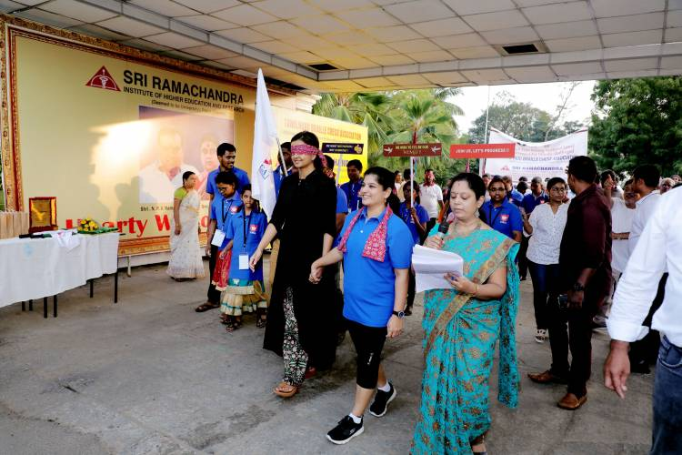 Mrs.Kiruthiga Udhayanidhi launched the TNBCA official flag and flag offed the walkathon