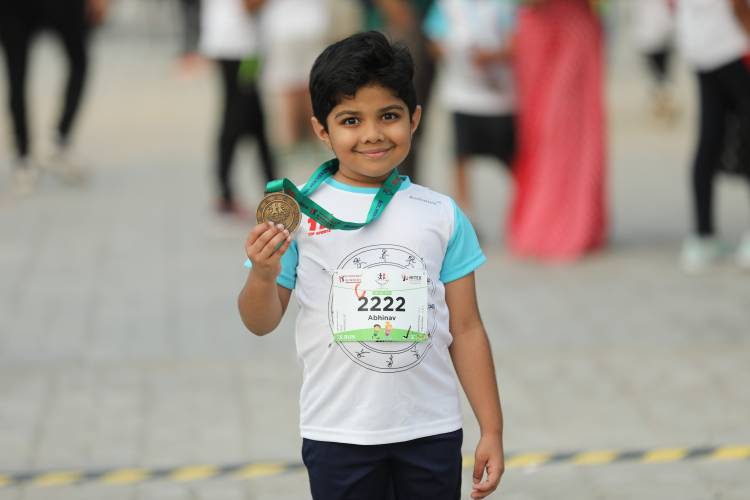 "Hyderabad Runners Society organised 4th Edition of ""Hyderabad Kids Run 2019"""