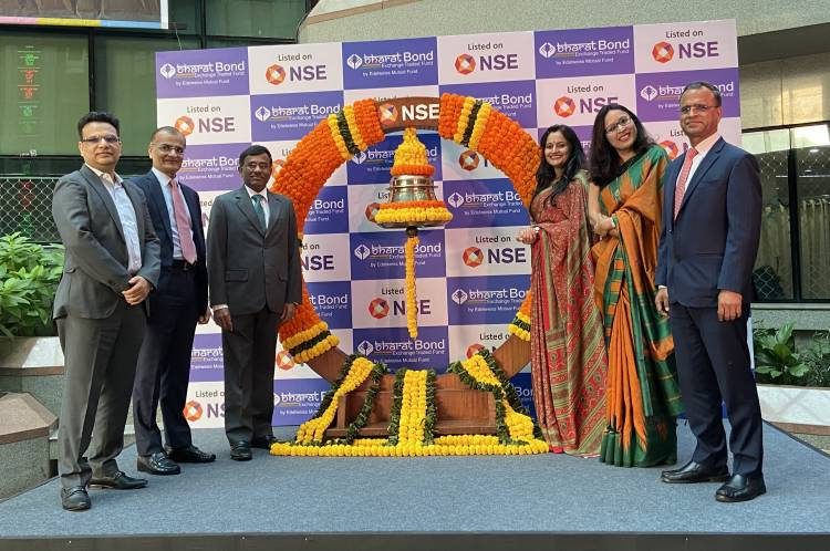 Edelweiss Mutual Fund's 'BHARAT Bond ETF' lists on National Stock Exchange (NSE)