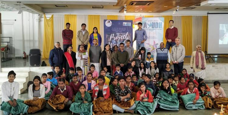 Ayudh Delhi NCR holds Project Warmth the annual winter relief program for the third year