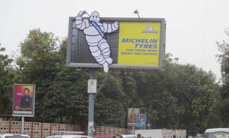 Ignite Mudra Brings the iconic Michelin Man back on the Indian OOH landscape
