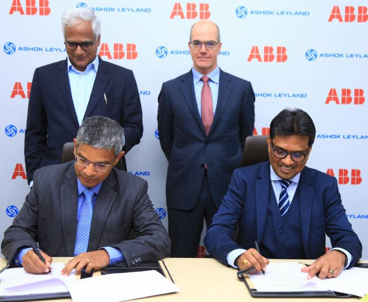 ABB Power Grids and Ashok Leyland team up for greener electric buses