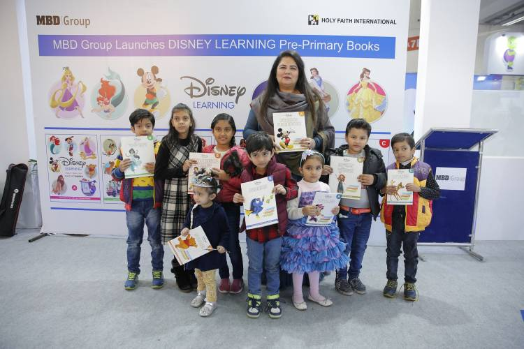 MBD GROUP LAUNCHES PRE-PRIMARY BOOKS FEATURING DISNEY THEMES