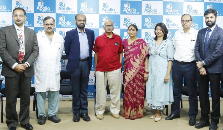 Apollo Doctors perform Living Donor Liver Transplant and CABG