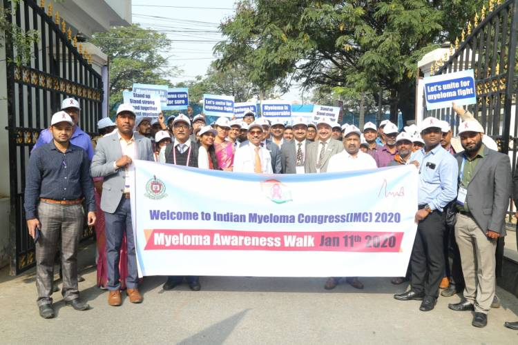 Indian Myeloma Congress 2020 organised by NIMS