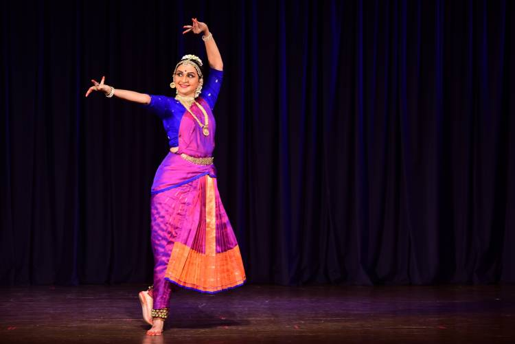 Dancer-Actor Radica Giri's Margazhi performance at Brahma Gana Sabha