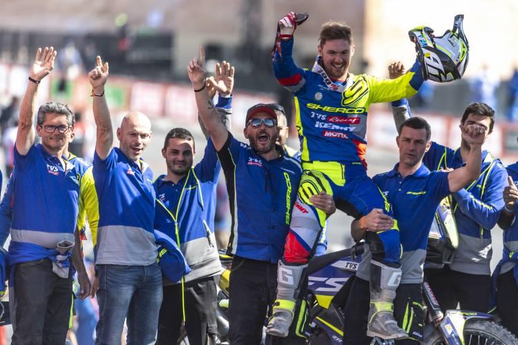 Sherco TVS Rally Factory Team Sets a new benchmark at  Dakar Rally 2020