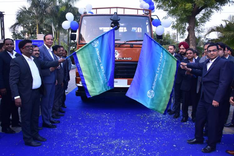 Ashok Leyland delivers first batch of BS-VI Trucks
