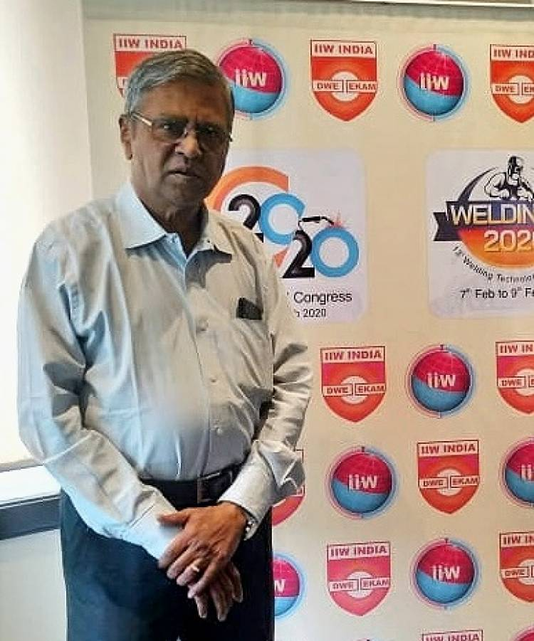 """""""IMPROVING WELDING CAPABILITY KEY TO REACH RS 5 TRILLION ECONOMY"""": IIW-INDIA"""""""