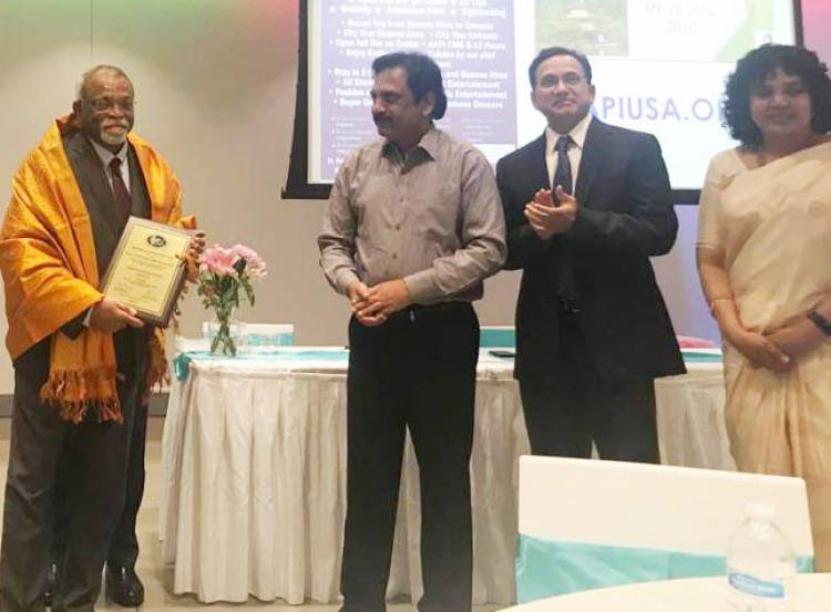City based renowned ENT specialist  Dr E C Vinaya Kumar GHCEH Award -2019