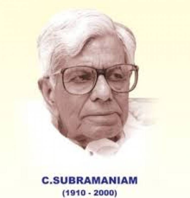 Chidambaram Subramaniam ushered the Indian Green Revolution