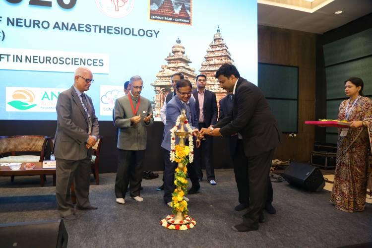 ISNACC 2020  Inaugural Function held at Radisson Blu,Mahabalipuram