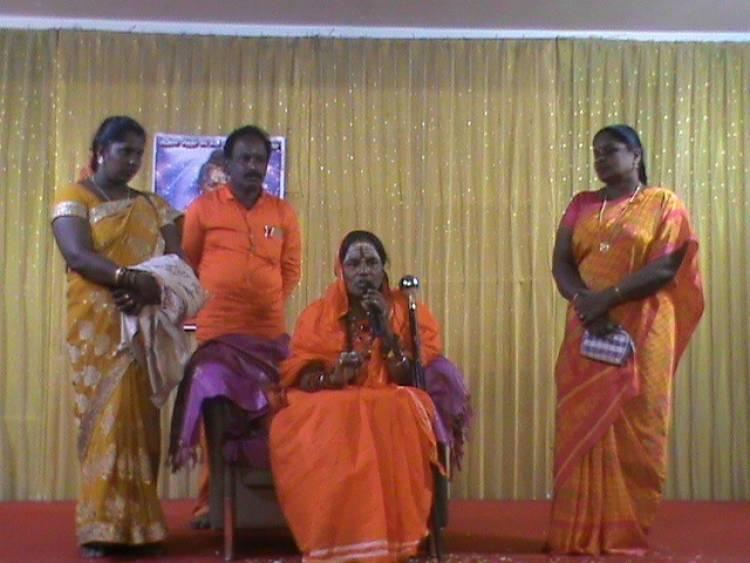 """""""ஒவ்வொரு மனிதருக்குள்ளும் ஆத்ம சக்தி இருக்கிறது..அதை பயன்படுத்தினால் பிரச்சனைகளை சரி செய்துக் கொள்ள முடியும்."""" ஸ்ரீ ஆத்ம சித்தர் லட்சுமி அம்மா பேச்சு!"""