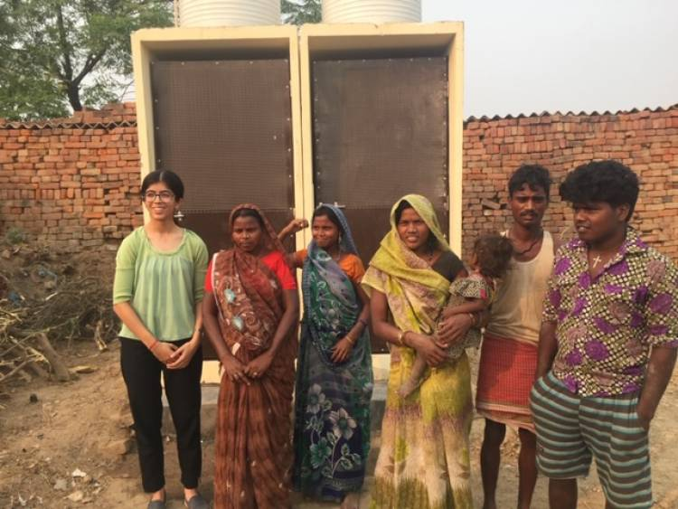 A Sanitation Project - Aarambh by a student of Gurugram