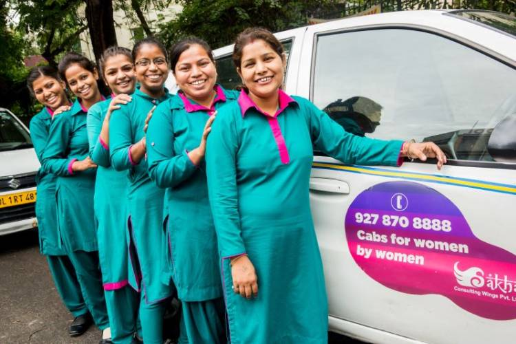 Sakha 'Women With Wheels' - Women driven Cabs launched from IGI Airport Terminal-3