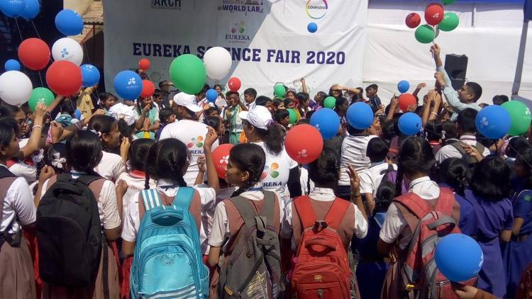 Covestro (India) along with ARCH Development Foundation organise a 3 day 'Eureka Science Fest' for Students