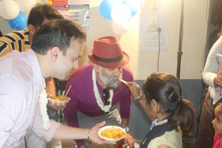 JD Majethia's Celebrated 54th birthday with 54 HIV positive kids