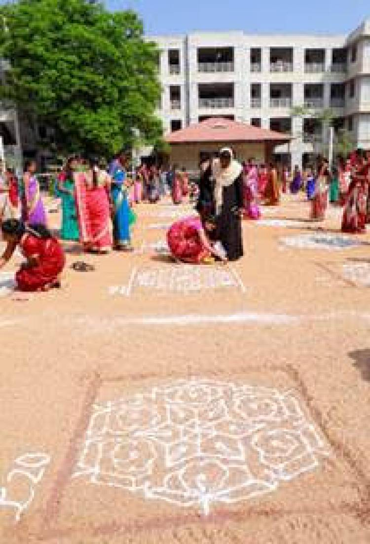 TATA TEA Chakra Gold enters Asia Book of Records for making most number of unique kolams in one location to celebrate Tamil pride