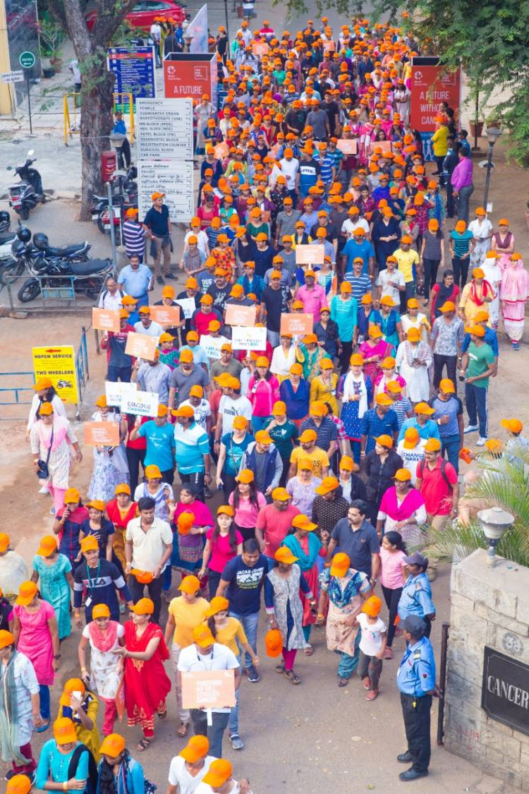 Apollo Hospitals Group organised Walkathon to create awareness on Cancer