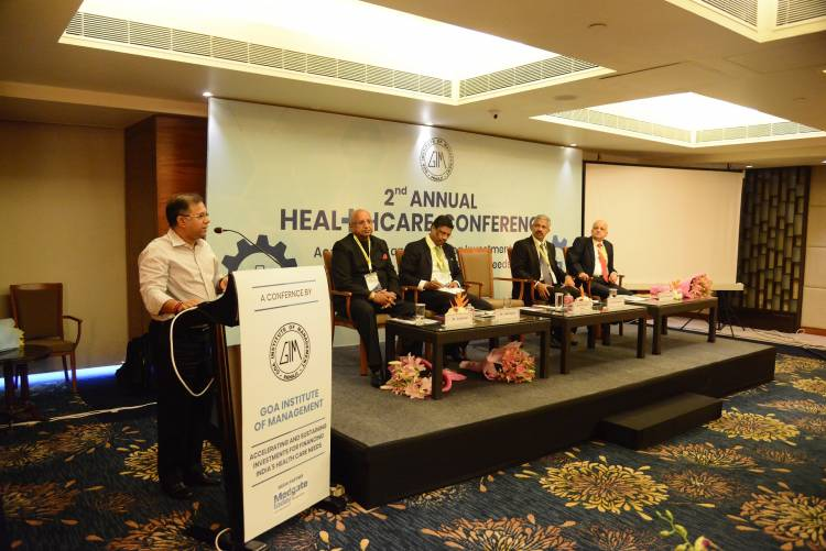 Healthcare Experts and Industry Leaders debate on Financing India's Healthcare Needs at conference by Goa Institute of Management (GIM)