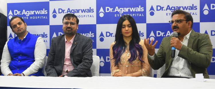 DR. AGARWAL'S EYE HOSPITAL LAUNCHES THE EYE CARE CENTRE AT MEHDIPATINAM