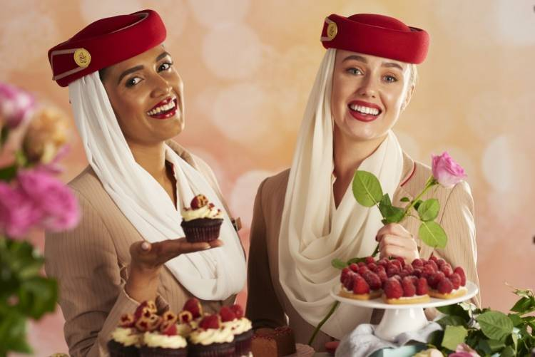 Emirates to celebrate Valentine's Day by serving 40 unique culinary creations across its network