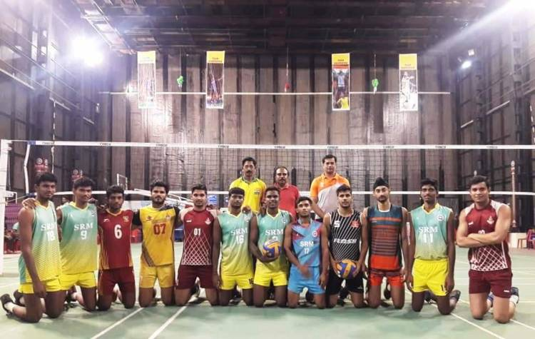Association of Indian Universities Volleyball Team - 33rd Federation Cup – Volleyball Tournament -@Chittorgarh, Rajasthan