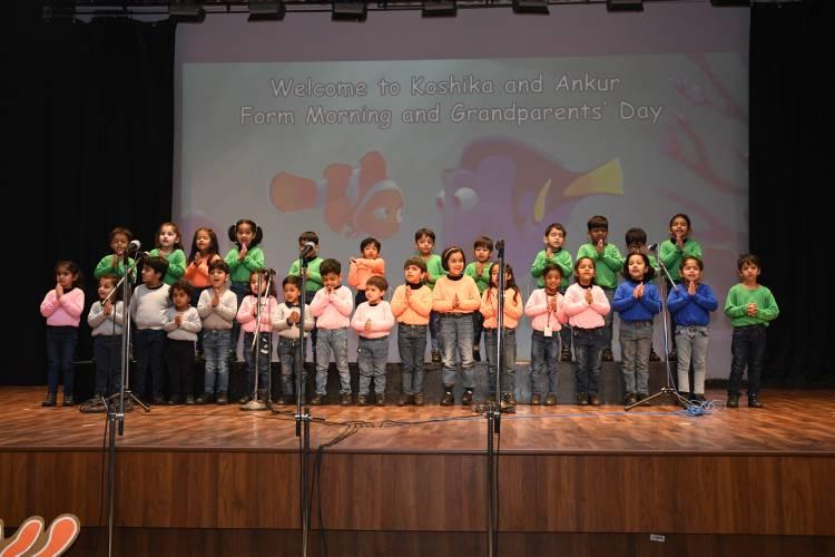 Grandparents Day celebrated at TSMS Faridabad