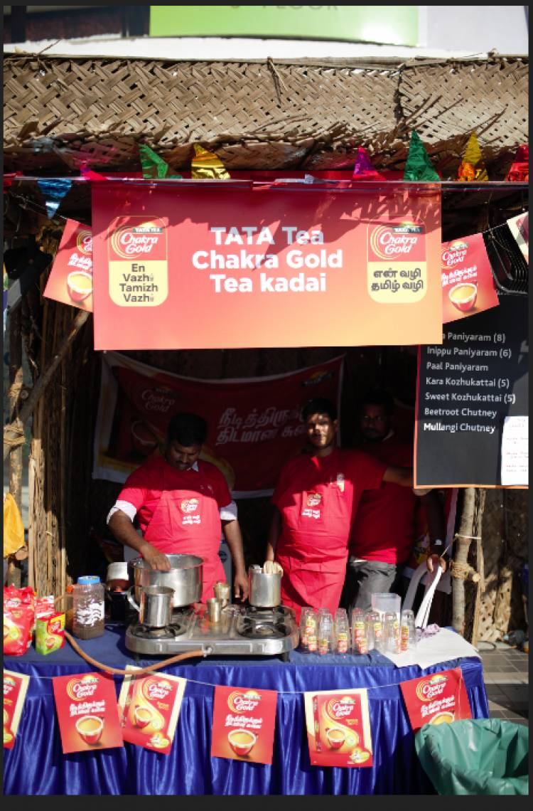 TATA TEA Chakra Gold curates a Tamizh special food festival to celebrate the Tamizh way of Life
