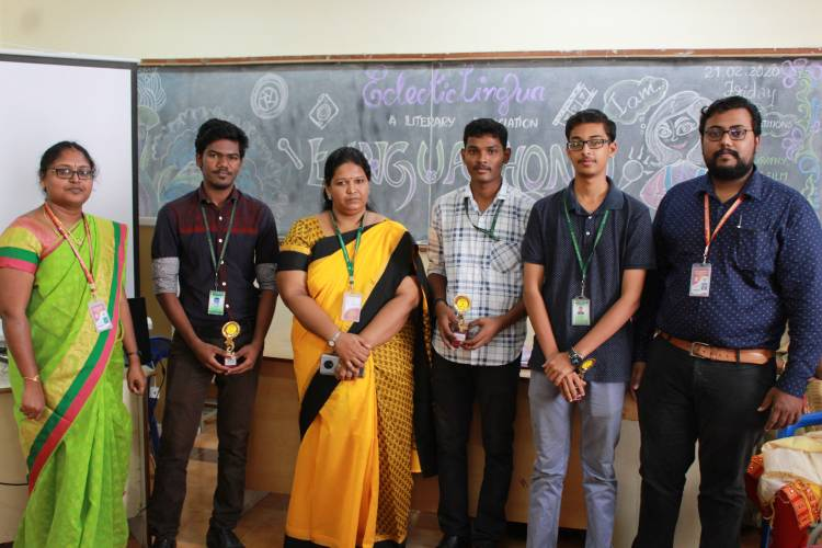 A Bouquet full of talents on display- Linguathon