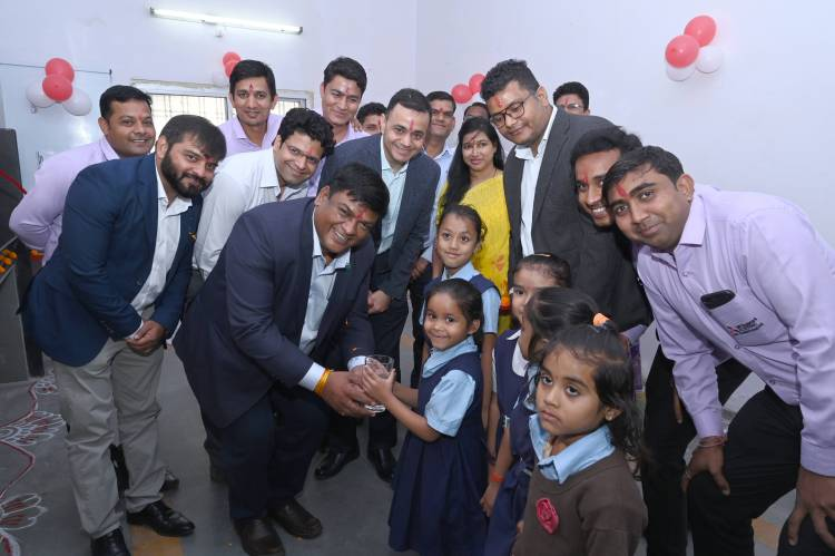 Mitsubishi Electric India supports 3 Government Schools through it's Clean Drinking Water initiative in Indore