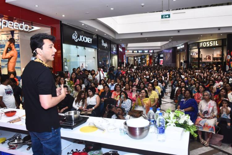 Palladium presents an interactive Masterclass with Michelin Star Chef Vikas Khanna on 27th February
