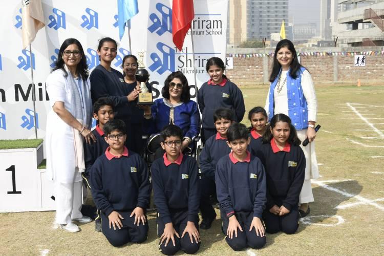 Annual Shri Khel and Shri Explorer event hosted by The Shriram Millennium School, Gurugram