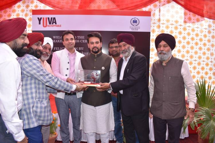 Yuva Unstoppable's Top Corporate Partners with Changemaker Awards 2020