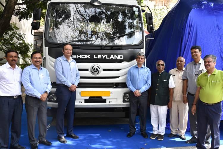 Ashok Leyland delivers Modular Platform Vehicles with BS VI Technology