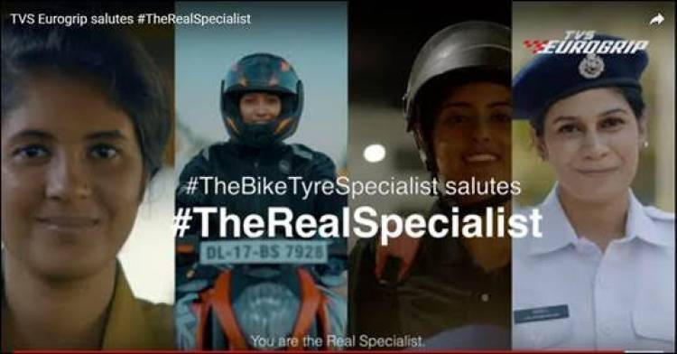"TVS Eurogrip's celebrates contribution of women with ""#TheRealSpecialist"" social media campaign"