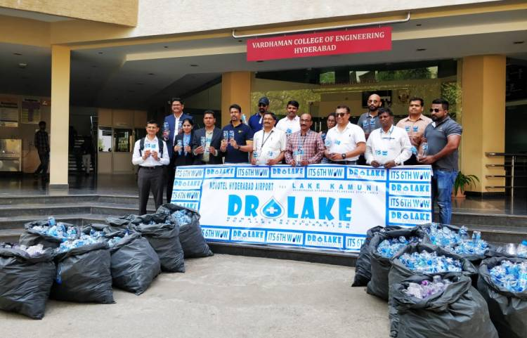 Novotel Hyderabad Airport in association with Telangana Tourism joins hands in restoring lakes