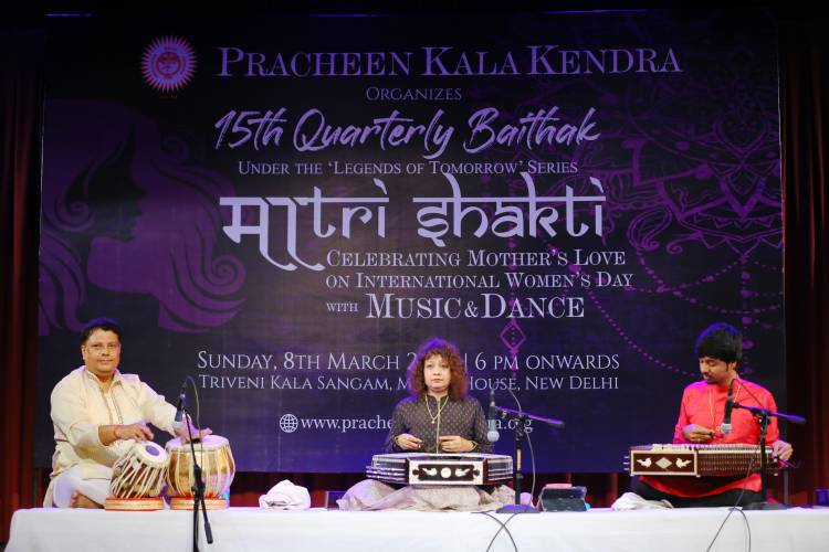 Pracheen Kala Kendra marked International Women's Day with performances by Acclaimed Artists